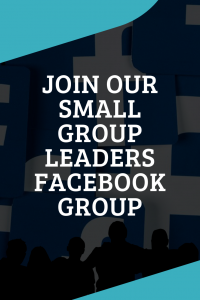 Small Group Leaders Facebook Group