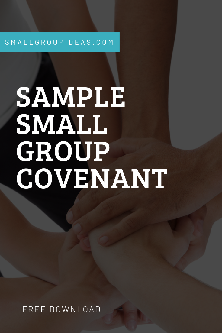 Sample Small Group Covenant
